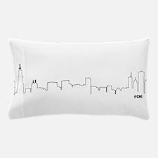 CHICAGO SKYLINE #CHI Pillow Case