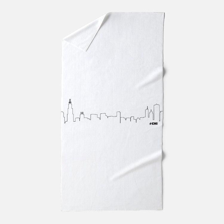 Bathroom Accessories Chicago chicago skyline bathroom accessories & decor - cafepress