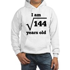12th Birthday Square Root Hoodie