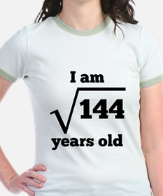 12th Birthday Square Root T-Shirt