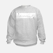 CHICAGO SKYLINE #CHI Sweatshirt