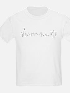 CHICAGO SKYLINE #CHI T-Shirt