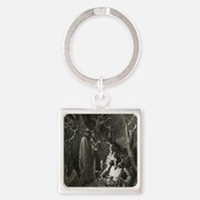 Divine comedy Image 01 Square Keychain