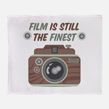 Film Is Finest Throw Blanket