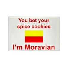 Moravian Spice Cookies Rectangle Magnet