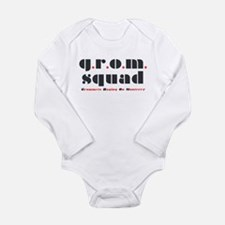 Cute Inline Long Sleeve Infant Bodysuit