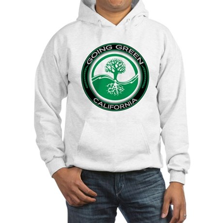 Going Green California (Tree) Hooded Sweatshirt