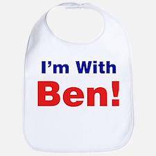 I'm With Ben Carson Bib