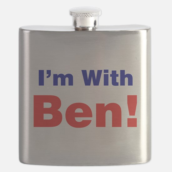 I'm With Ben Carson Flask