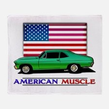 American Muscle Nova Throw Blanket