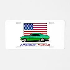 American Muscle Nova Aluminum License Plate