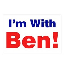 I'm With Ben Carson Postcards (Package of 8)