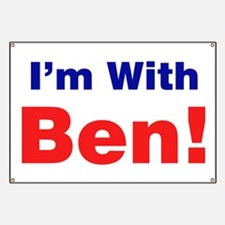 I'm With Ben Carson Banner