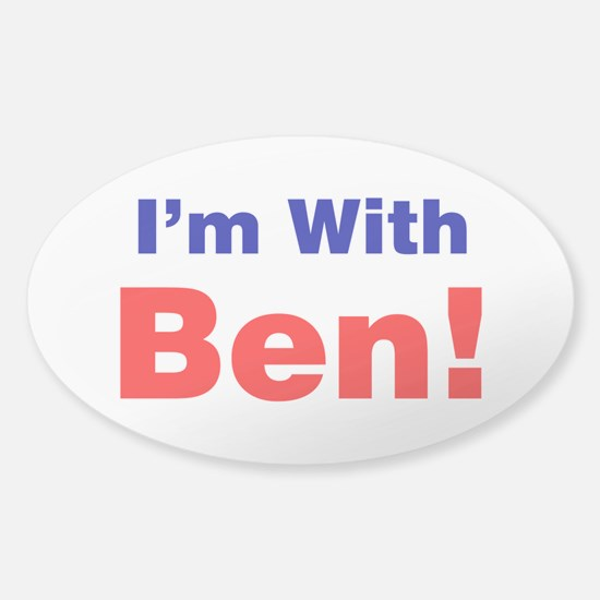 I'm With Ben Carson Decal