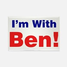I'm With Ben Carson Magnets