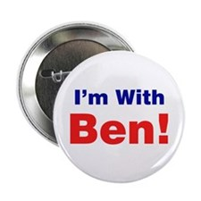 "I'm With Ben Carson 2.25"" Button (10 pack)"