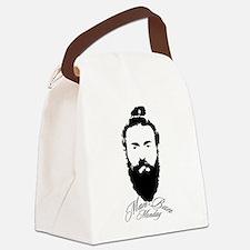 Man Bun Monday Canvas Lunch Bag