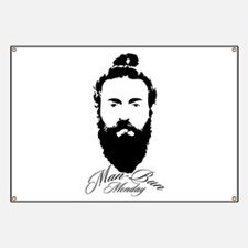 Man Bun Monday Banner