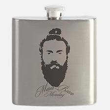 Man Bun Monday Flask