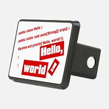 Hello, World! Hitch Cover