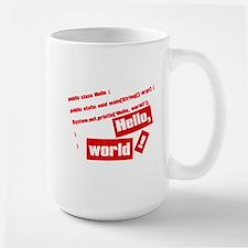 Hello, World! Large Mug