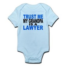 Trust Me My Grandpa Is A Lawyer Body Suit