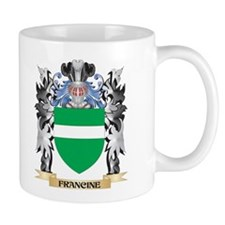 Francine Coat of Arms - Family Crest Mugs