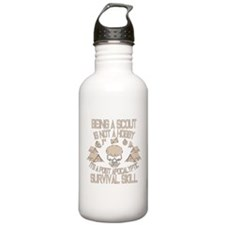 Being A Scout Is Not A Hobby Water Bottle