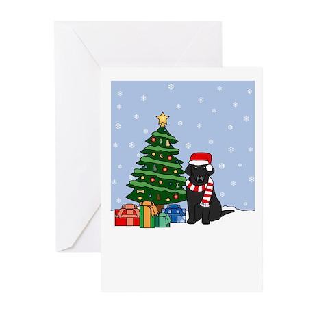 Black Lab Christmas Greeting Cards (Pk of 20)