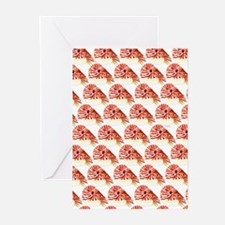 Chambered nautilus Pattern Greeting Cards