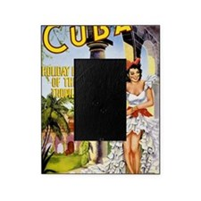 Cuba holiday isle of the tropics Vin Picture Frame