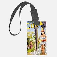 Cuba holiday isle of the tropics Luggage Tag