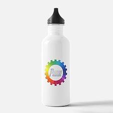 Cool Rainbow hot Water Bottle
