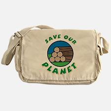 Save Our Planet Messenger Bag