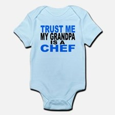 Trust Me My Grandpa Is A Chef Body Suit