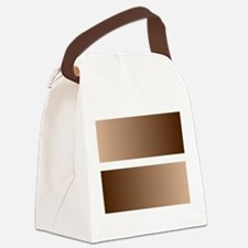 Black White Race Equality Equal S Canvas Lunch Bag