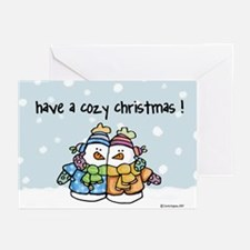 Cozy Christmas Greeting Cards (Pk of 20)