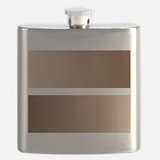 Black White Race Equality Equal Sign Flask