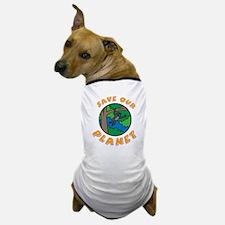 Cute Jungle habitat Dog T-Shirt