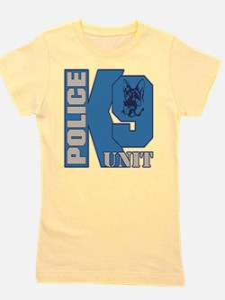 Police K9 Unit Dog Girl's Tee