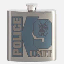 Police K9 Unit Dog Flask