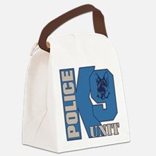 Police K9 Unit Dog Canvas Lunch Bag