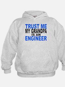 Trust Me My Grandpa Is An Engineer Hoodie