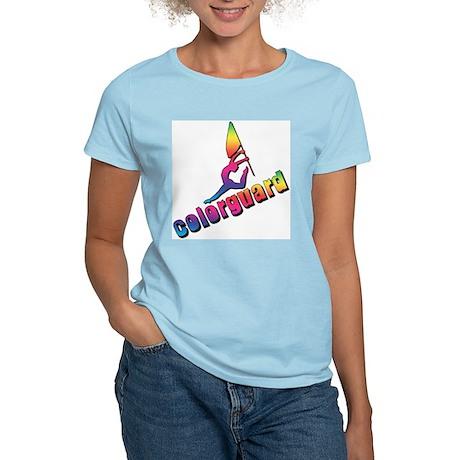 Colorful Colorguard Women's Light T-Shirt
