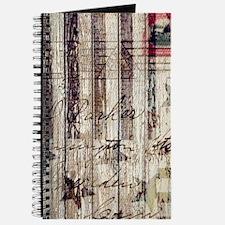 barn wood rustic Americana Journal