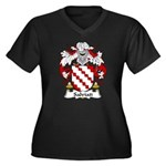 Salviati Family Crest Women's Plus Size V-Neck Dar