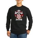 Salviati Family Crest Long Sleeve Dark T-Shirt