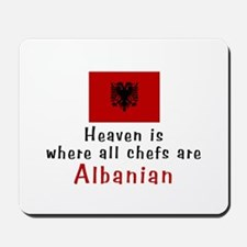 Albanian Chefs Mousepad