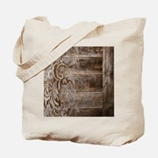 barn wood lace western country Tote Bag