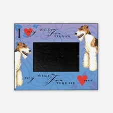 Wire Fox Terrier Picture Frame